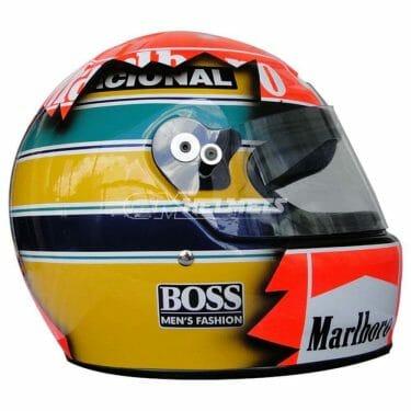 ayrton-senna-and-michael-schumacher- artistic-design-f1-helmet