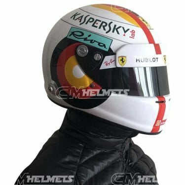 Sebastian-Vettel-2018-Germany-Hockenheim-GP- F1-Replica-Helmet-Full-Size-be-head
