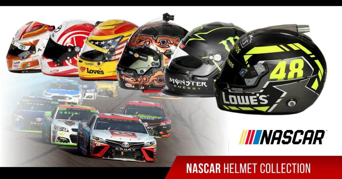 nascar helmet collection