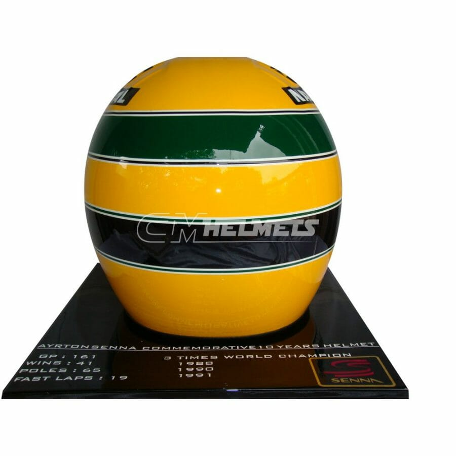 AYRTON-SENNA-1994-10-YEARS-COMMEMORATIVE-LIMITED-EDITION-F1-REPLICA-HELMET-FULL-SIZE-6