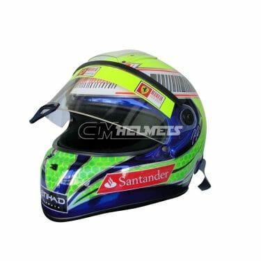FELIPE-MASSA-2011-CHROMED-EDITION-F1-REPLICA-HELMET-FULL-SIZE-3